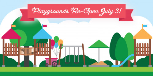 Playgrounds Re-Open July 3!